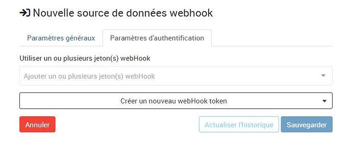 New WebHook Authentification
